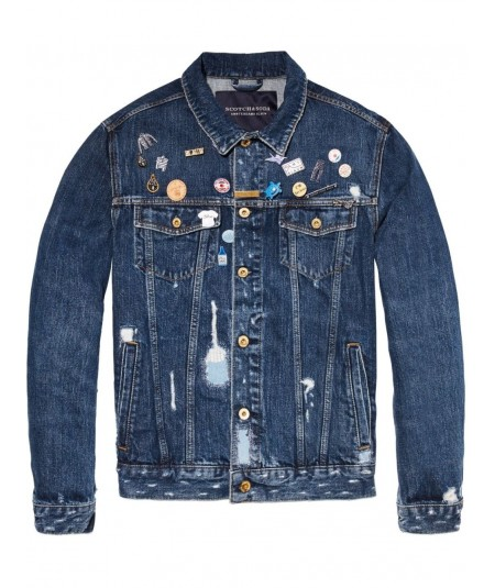 Scotch and Soda Herren Jeansjacke Artikel Nr. 141131
