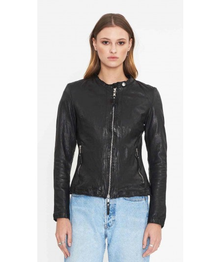 BE EDGY Damen Lederjacke
